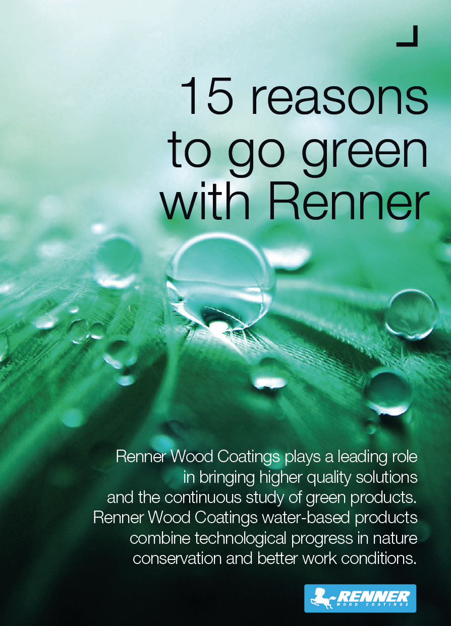 15 Reasons to Go Green with Renner™